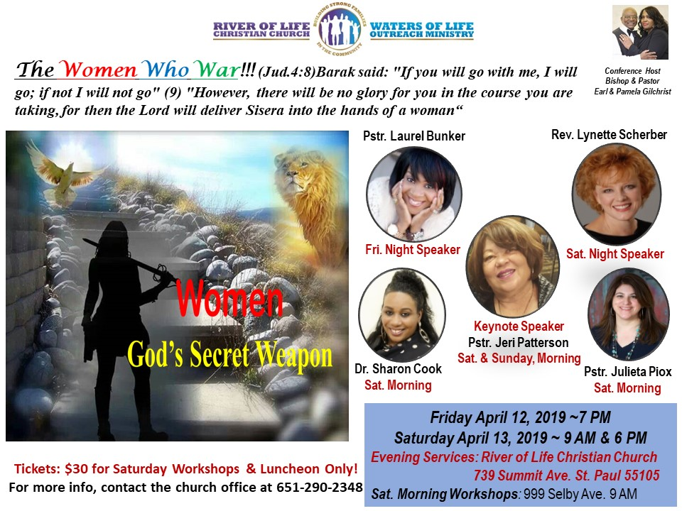 Rivers of Water of Live Church – Annual Women's Conference